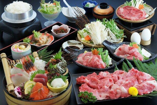 鳥取和牛すき焼きと大栄スイカ食べ放題 食の都とっとりうまいもんめぐり 日帰り
