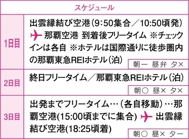 【催行中止】FDAチャーター便で行く めんそーれ!沖縄フリーコース