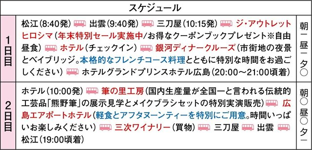 第44回謝恩ツアー B 【女子旅】グランドプリンスホテル広島に泊まる銀河ディナークルーズとアフタヌーンティー