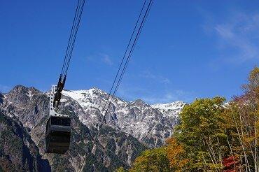 FDAで行く 秋色の信州 2つのロープウェイ空中散歩 新穂高・上高地・北八ヶ岳絶景アルプス