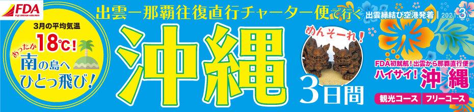 FDA沖縄チャーター